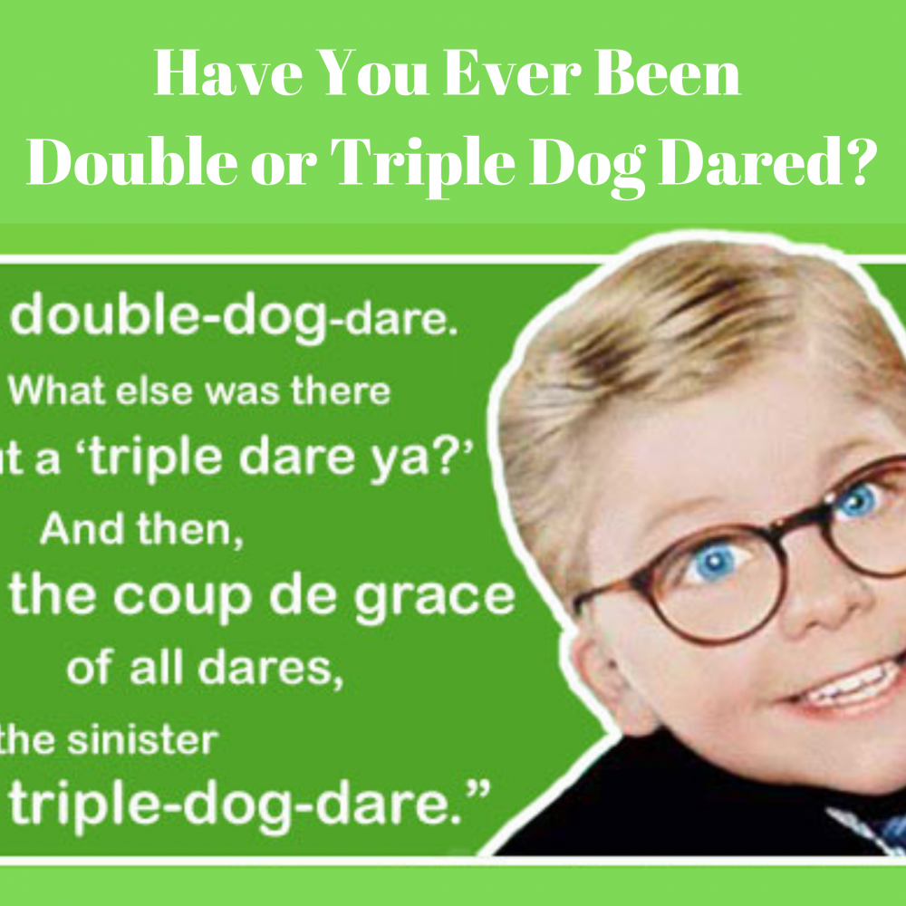 I Dare Ya! I Double Dog Dare Ya! I Triple Dog Dare Ya!