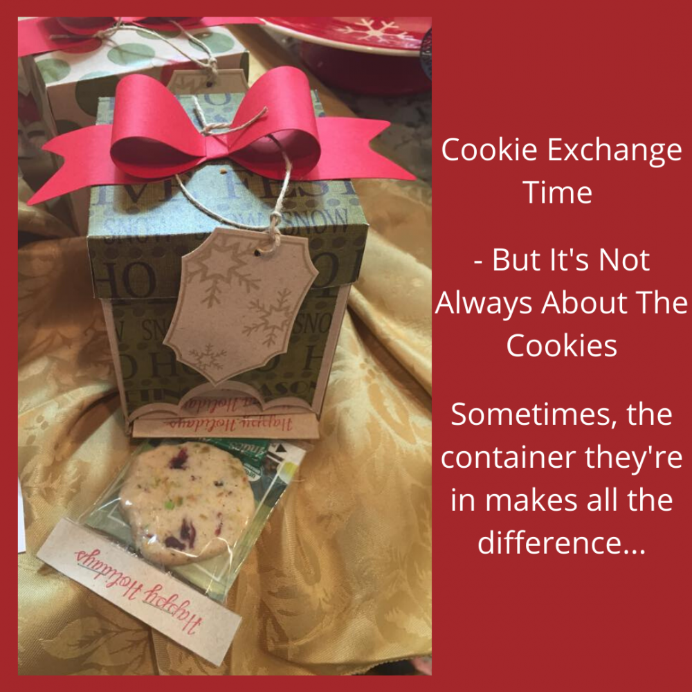 Cookie Exchange Time – But It's Not Always About The Cookies
