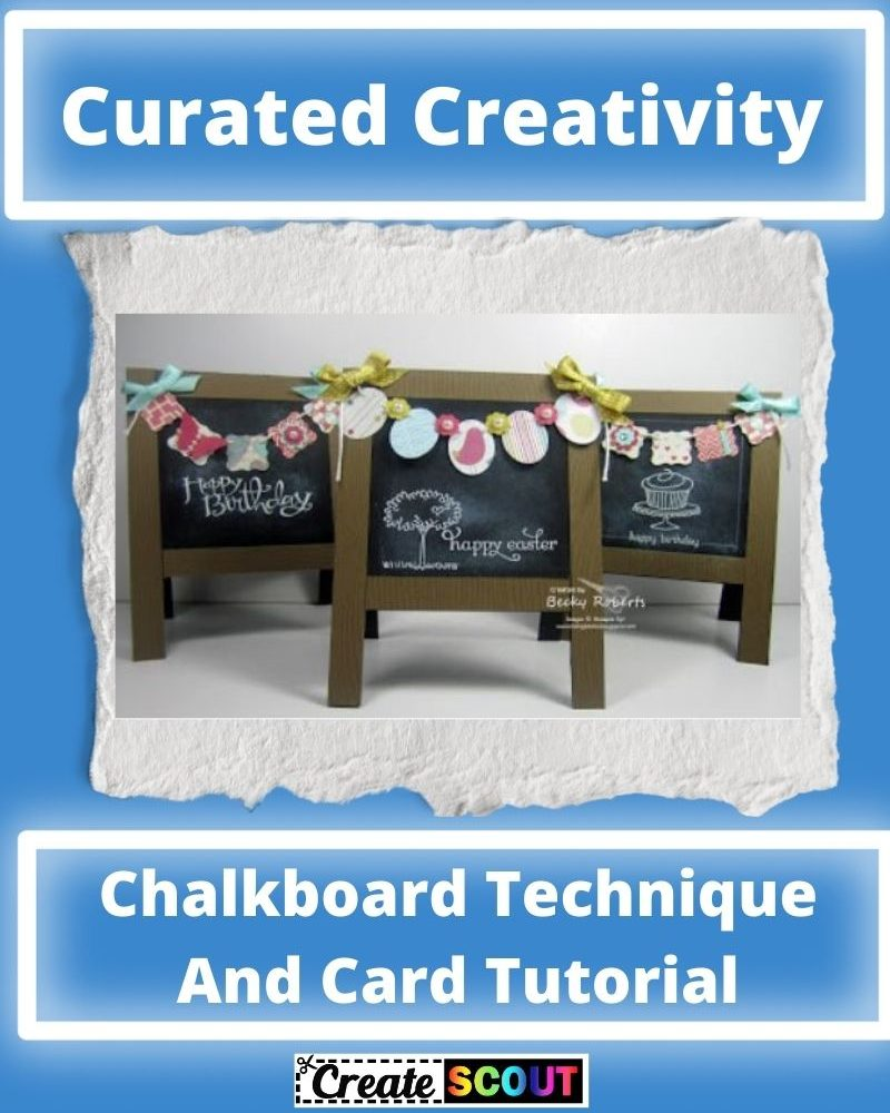 Chalkboard Technique And Card Tutorial