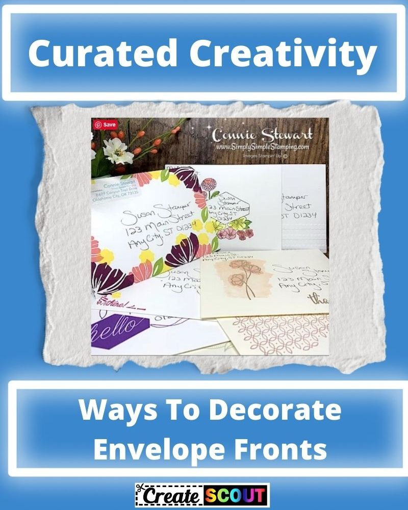Creative Ways To Decorate Envelope Fronts
